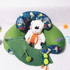 Sėdėjimo/Atraminė pagalvė ,,ŽALIAS GROŽIS,,